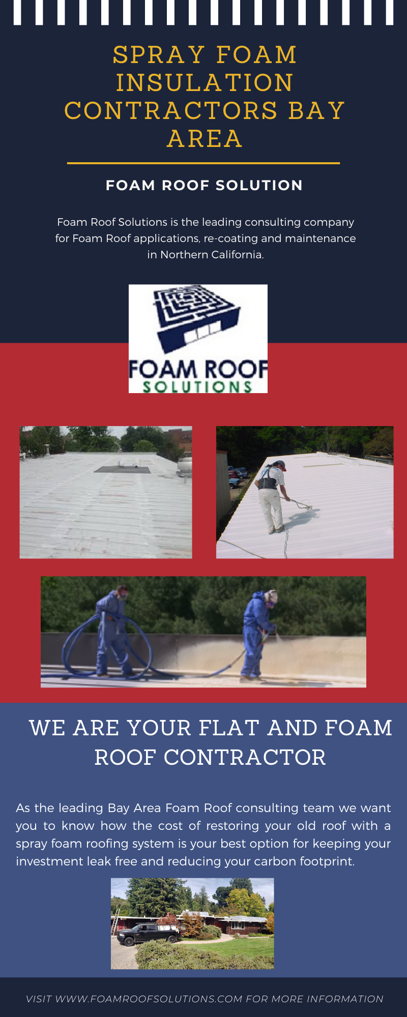 We Now Offer More Insulation Than Any San Francisco Bay Area Spray Foam Spf Contractor In 2020 Foam Roofing Contractors Spray Foam Roofing