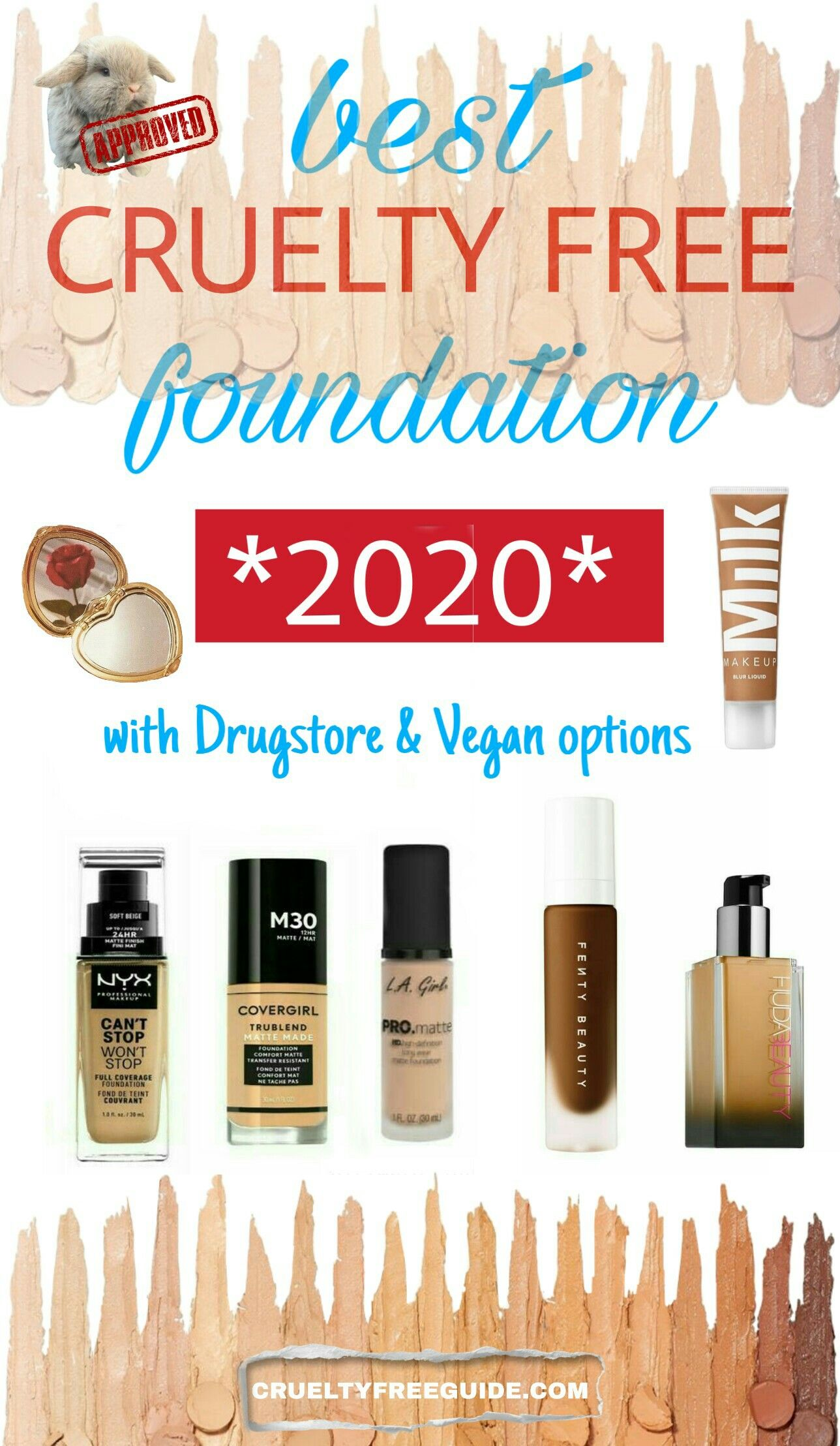 13 Amazing Drugstore Foundations That Are Cruelty Free