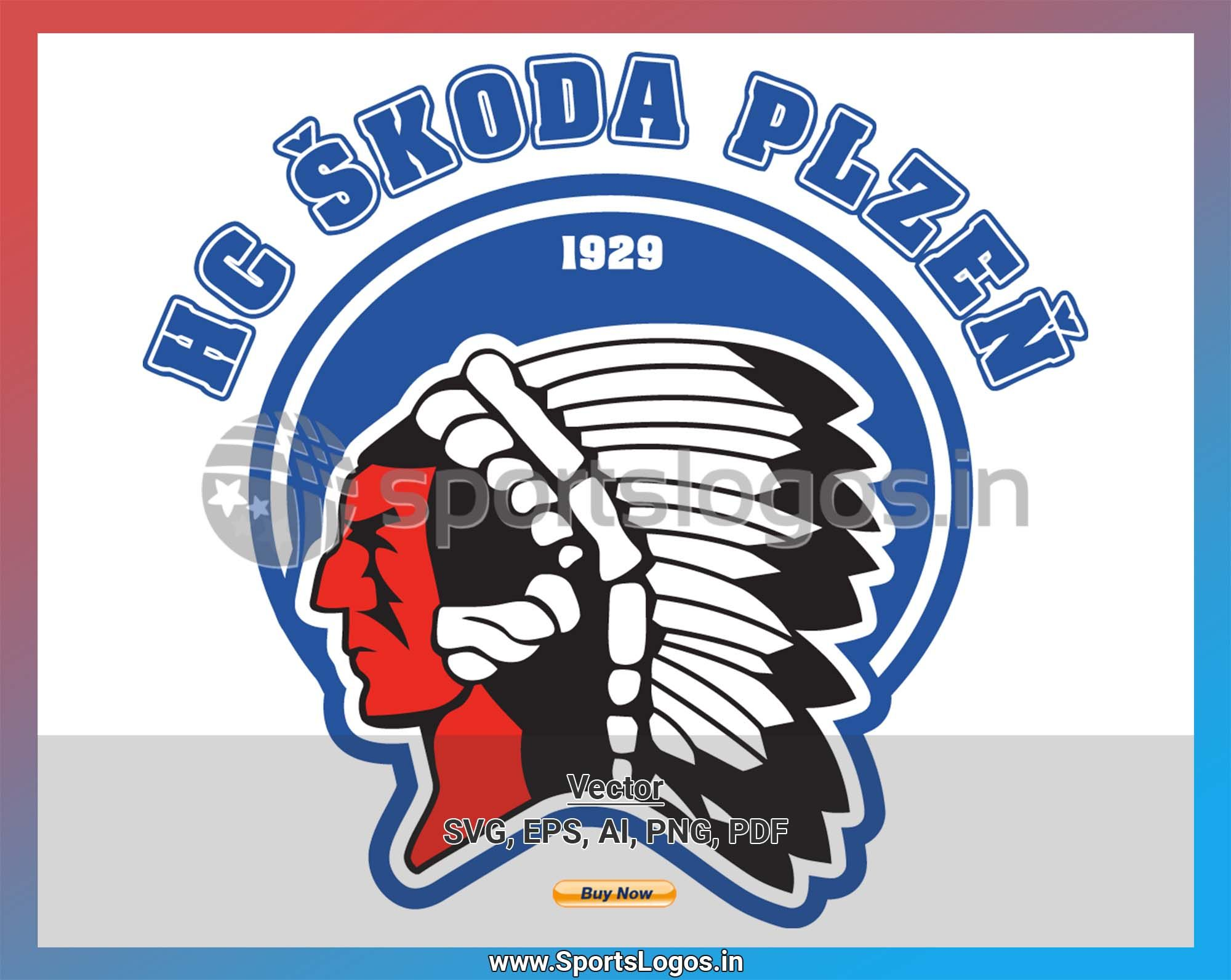 Hc Skoda Plzen Hockey Sports Vector Svg Logo In 5 Formats Spln001799 Sports Logos Embroidery Vector For Nfl Nba Nhl Mlb Milb And More Embroidery Logo Sport Hockey American Logo