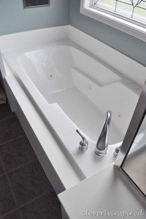 How To Paint Cultured Marble Tub Surround
