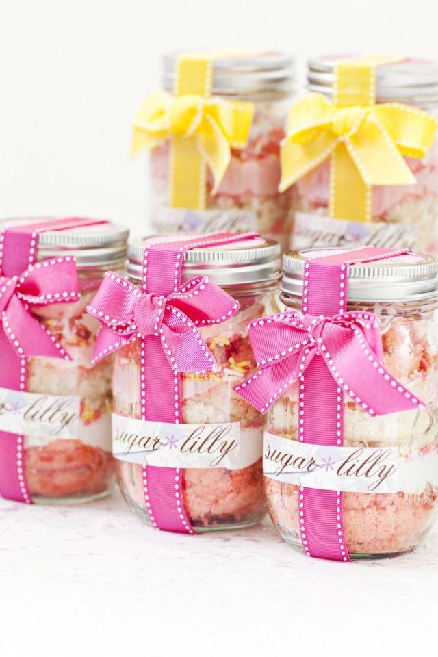Cupcake Jars Cute Gift Regalos Bonitos Frascos Recetas