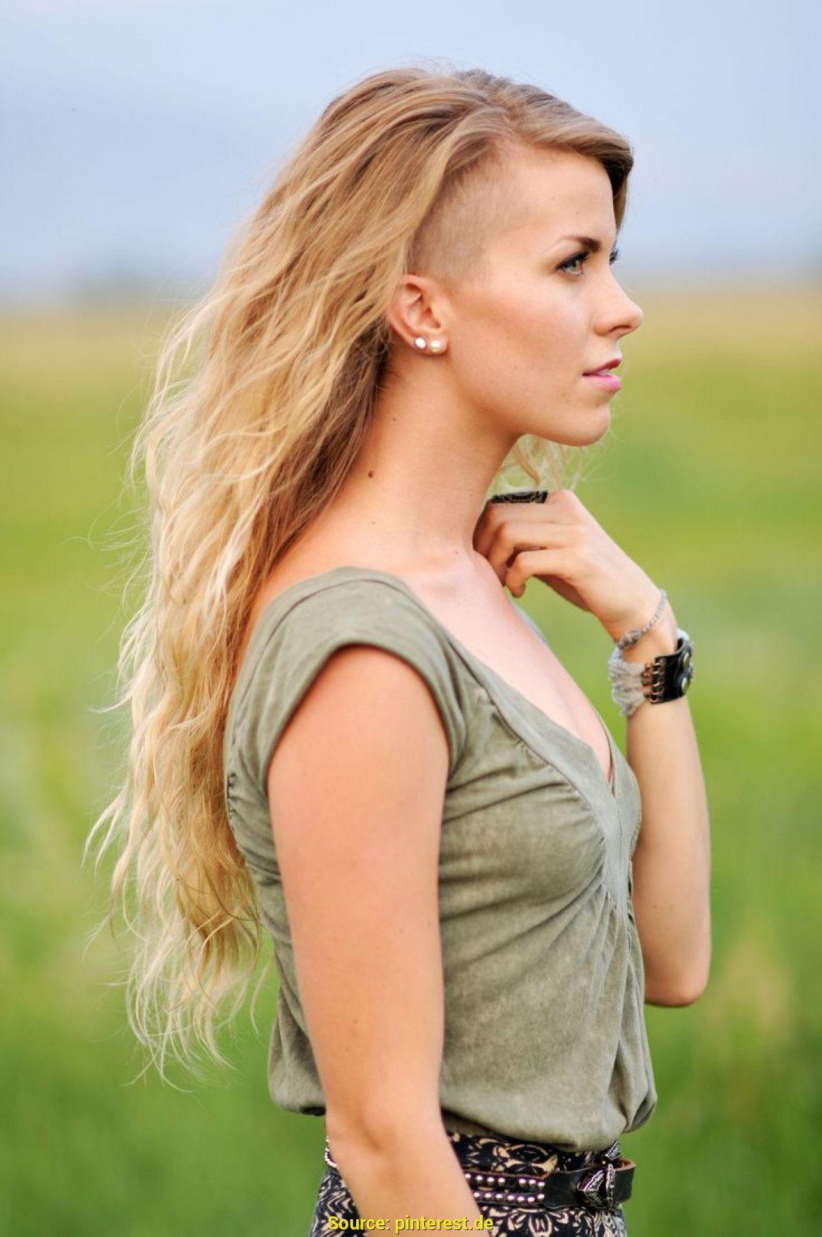 sidecut mit langen haaren