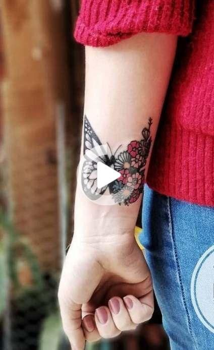 Adorable butterfly tattoo ideas