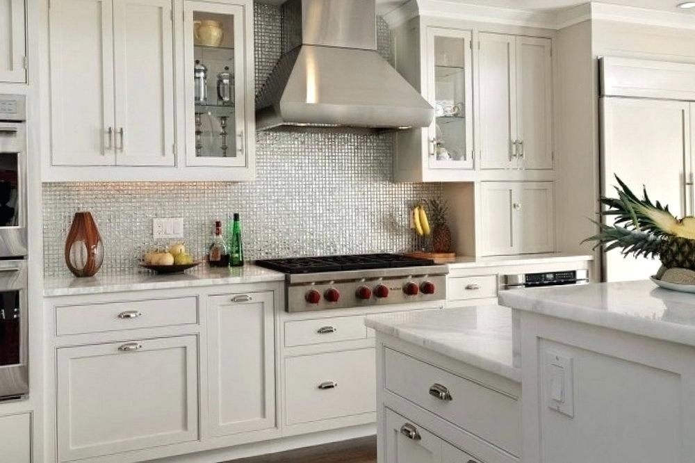 Exciting Backsplash Tile Ideas For Small Kitchens Kitchen Designs White Modern