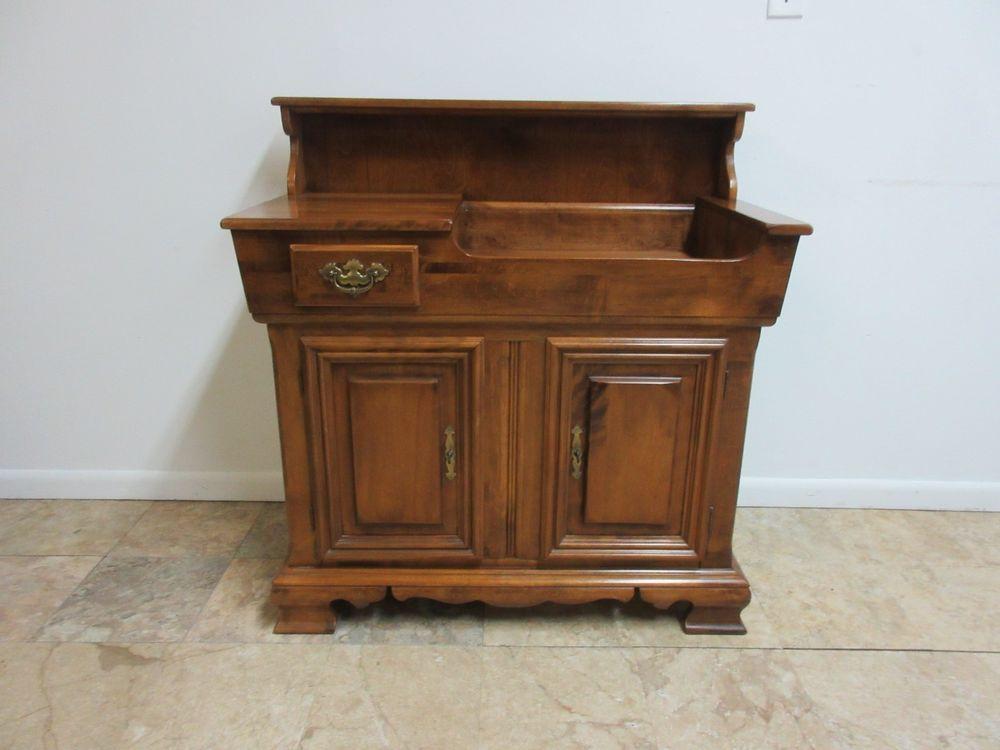 Cushman Maple Pennsylvania House Chippendale Dry Sink Server