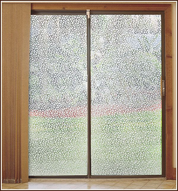 Pebble Etched Glass Window Film By Wallpaper For Windows New House