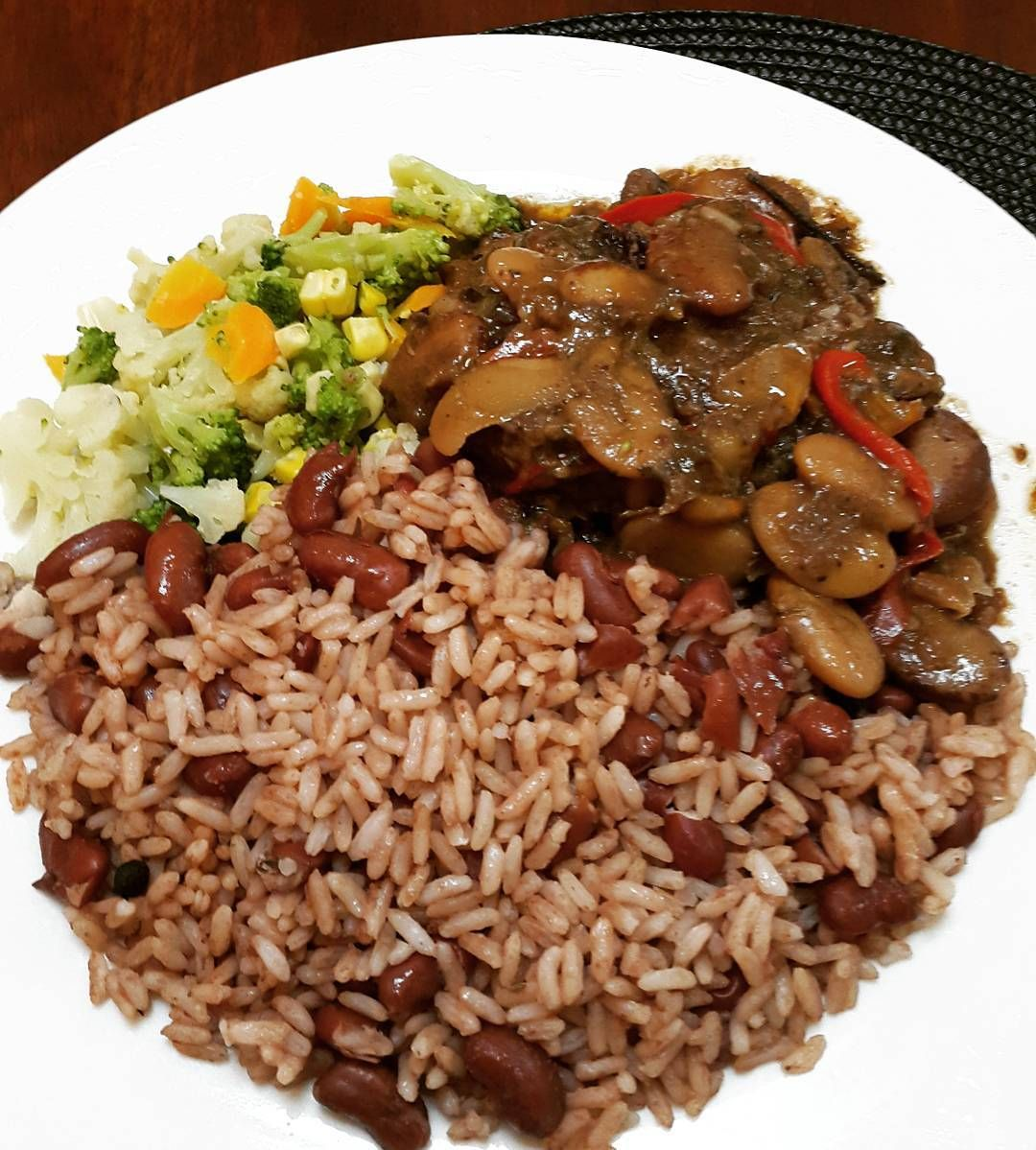 Throwback Thursday Part Of The Sunday Dinner That Was Monday Lunch Oxtail Jamaican  Style