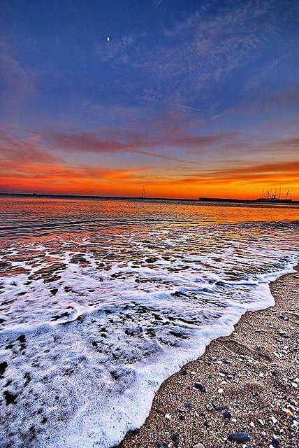 Malaga Sunset, Spain