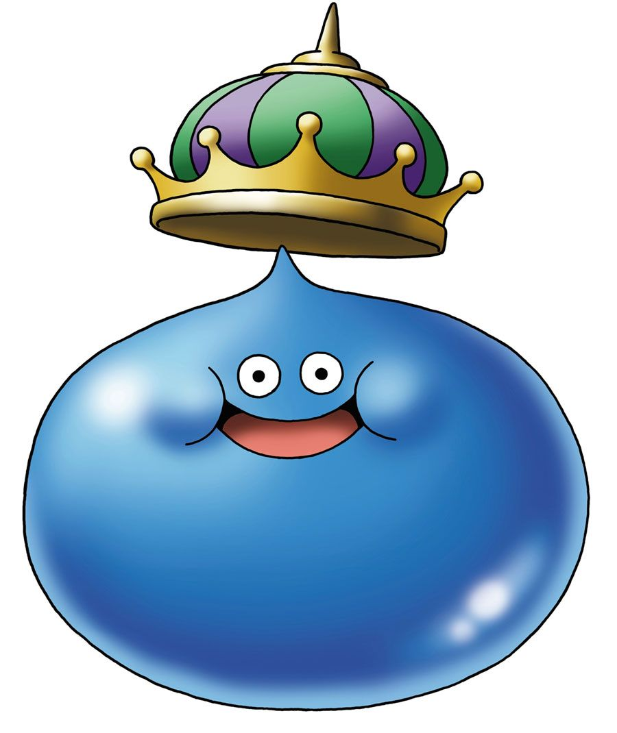 King Slime Characters Art Dragon Quest Vi Realms Of Revelation Dragon Quest Character Design Dragon