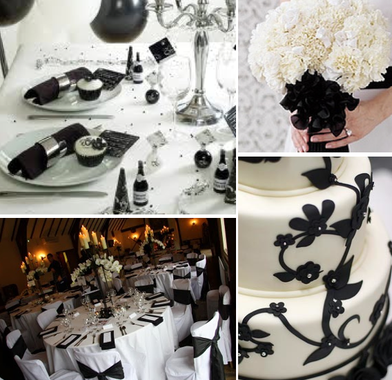 Black And White Winter Wedding Colors 10 Beautiful Color Combinations
