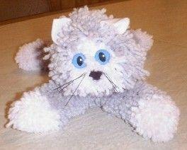 whoohoo! Found directions to make yarn kittens (like I