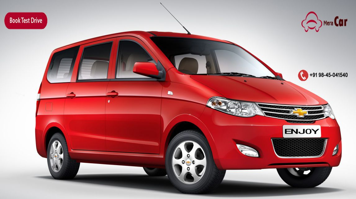 Book Test Drive Chevrolet Enjoy The Most Spacious And Luxury