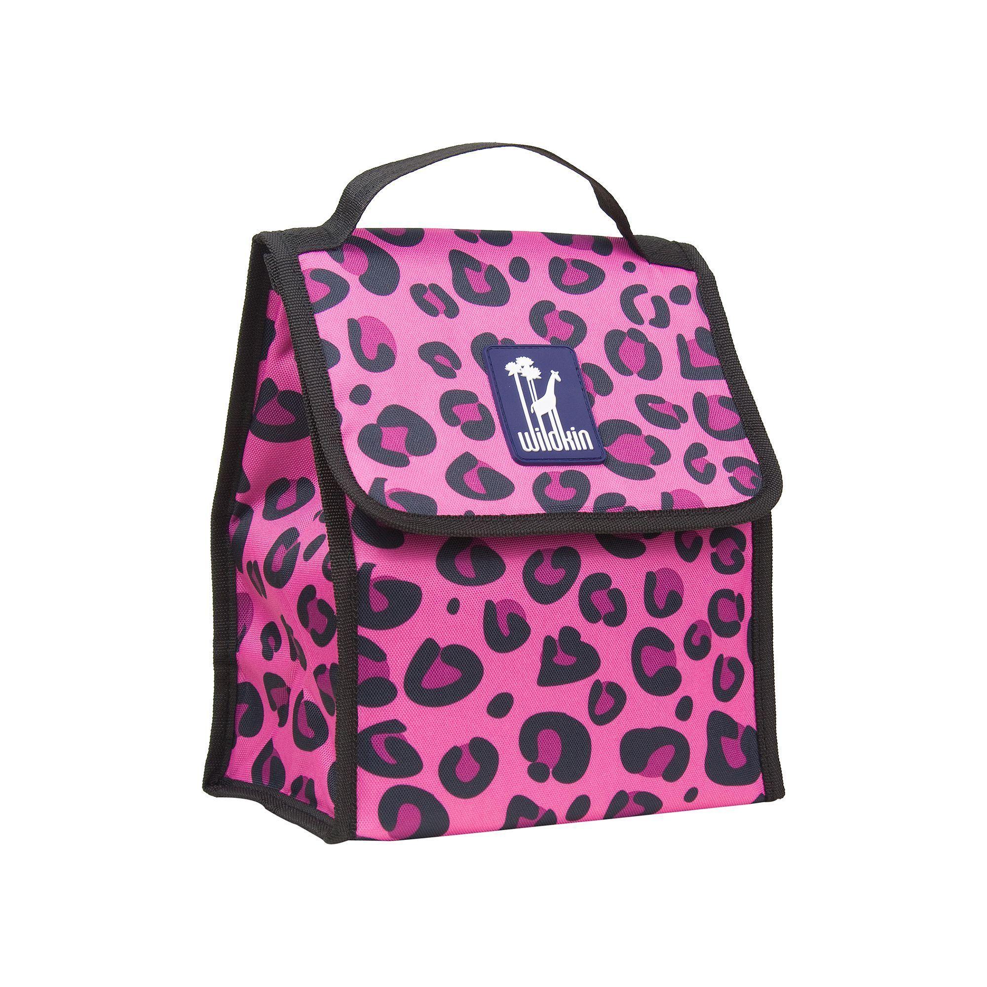 Wildkin Leopard Munch N Lunch Bag Kids Bags