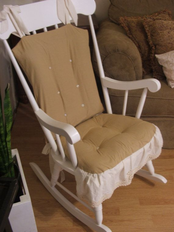 Exceptionnel Rocking Chair Cushion Cover