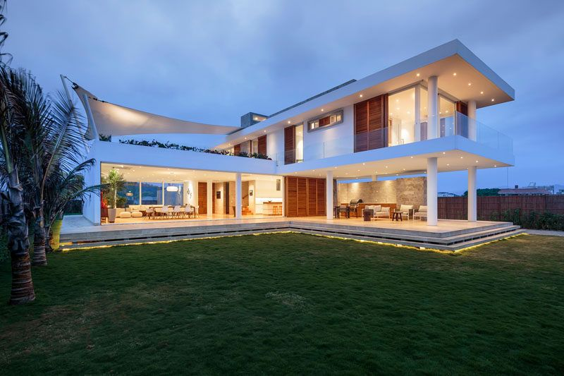 Modern Beach House gabriel rivera arquitectos have designed a modern beach house in