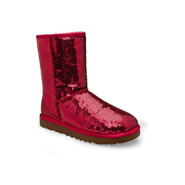 Chaussure UGG Classic $ Short Sparkles pour Femme Femme Classic Ruby Red Casual (170 $ ada3af4 - vendingmatic.info