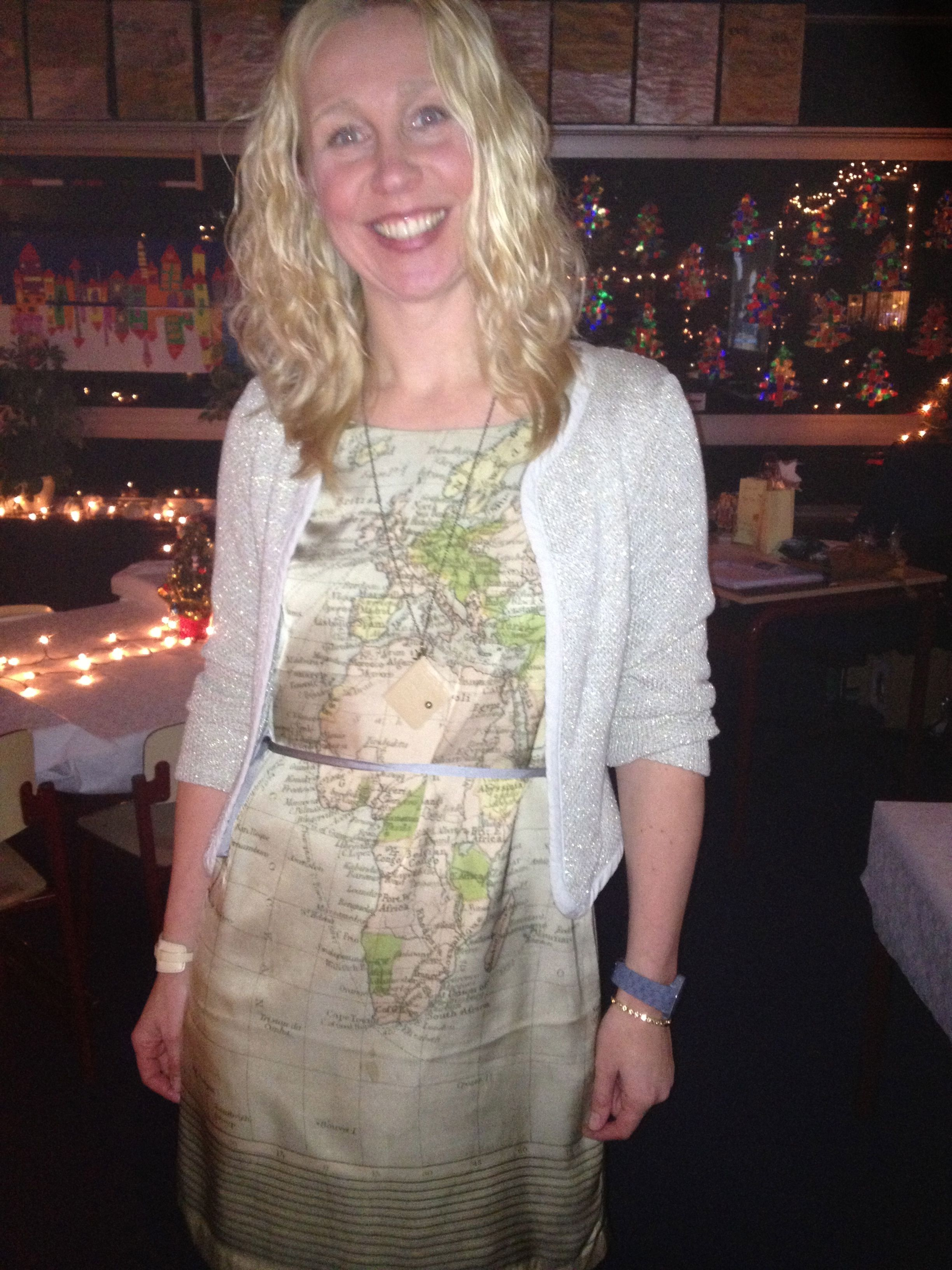 Nice dress for Christmas eve
