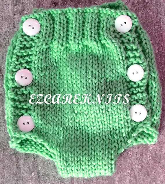 This Hand Knitted Diaper Cover Pattern Is So Stylishly Cute They