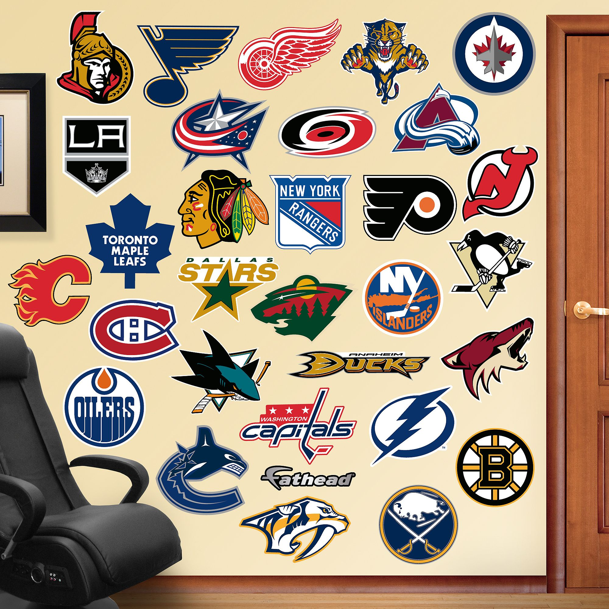 NHL Logo Collection Sports