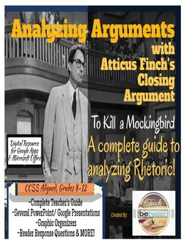 Analyze An AuthorS Argument With Atticus FinchS Closing