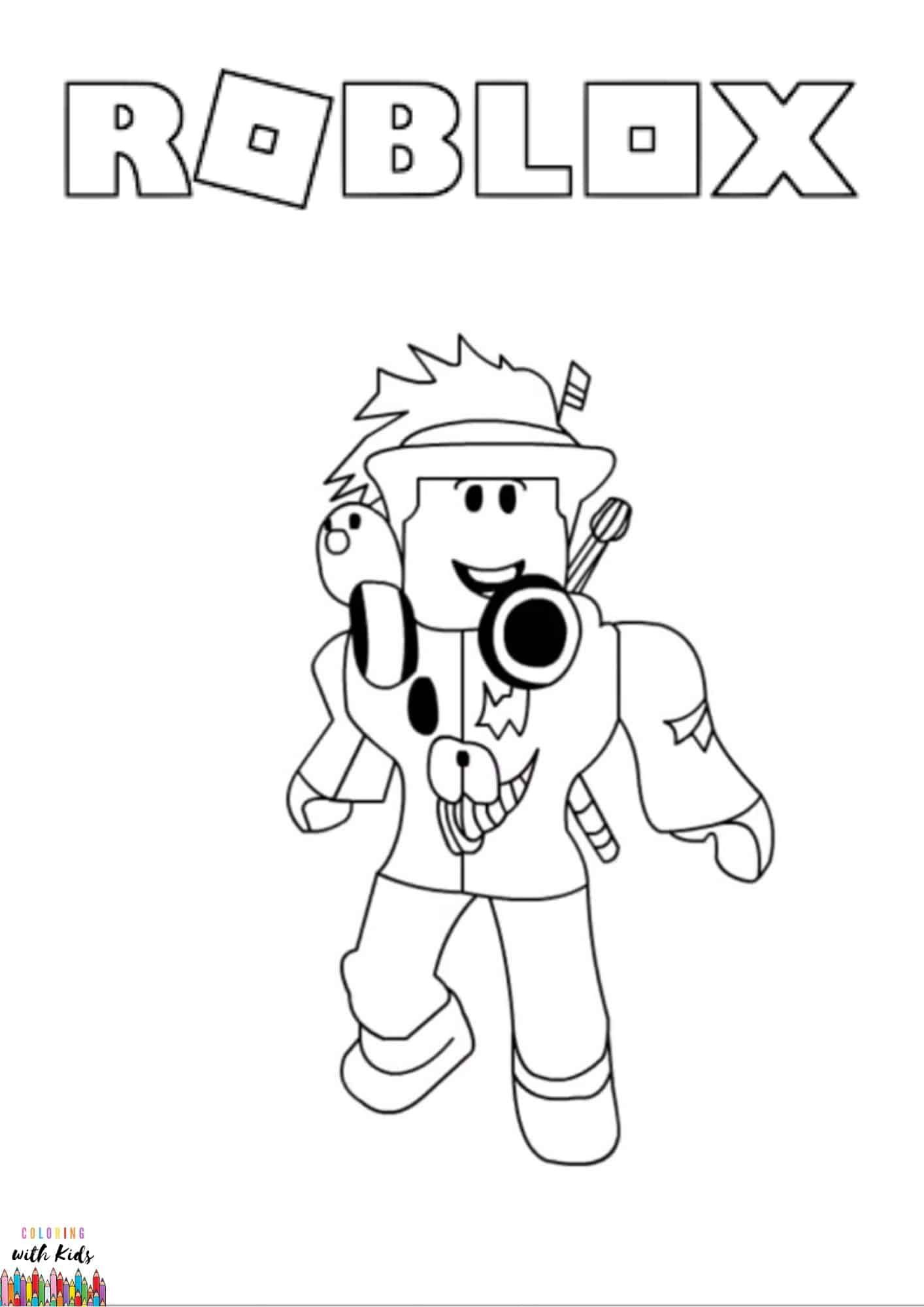 Roblox Avatar Coloring Page Image Credit Roblox Avatar By Yadia Chenia Permission For Pe Pokemon Coloring Pages Coloring Pages Cartoon Coloring Pages