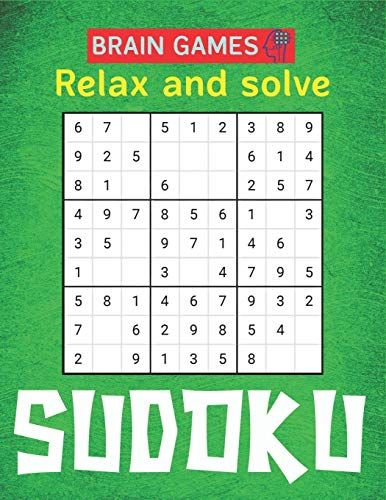 BRAIN GAMES Relax and solve SUDOKU: 250 Sudoku Puzzles Easy - Hard With Solution | large print sudoku puzzle books | Challenging and Fun Sudoku Puzzles for Clever Kids Lovely gifts | Author: Mamutun Press | Publisher: Independently published | Publication Date: December 19, 2019 | Number of Pages: 110 pages | Language: English | Binding: Paperback | ISBN-10: 1677456590 | ISBN-13: 9781677456598