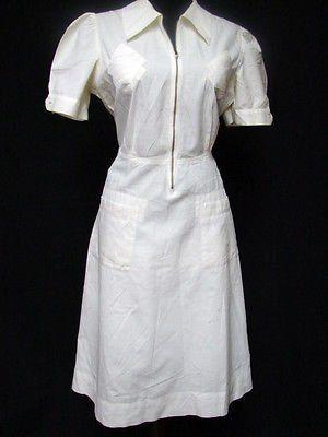 Cute Vintage Nurse Dress