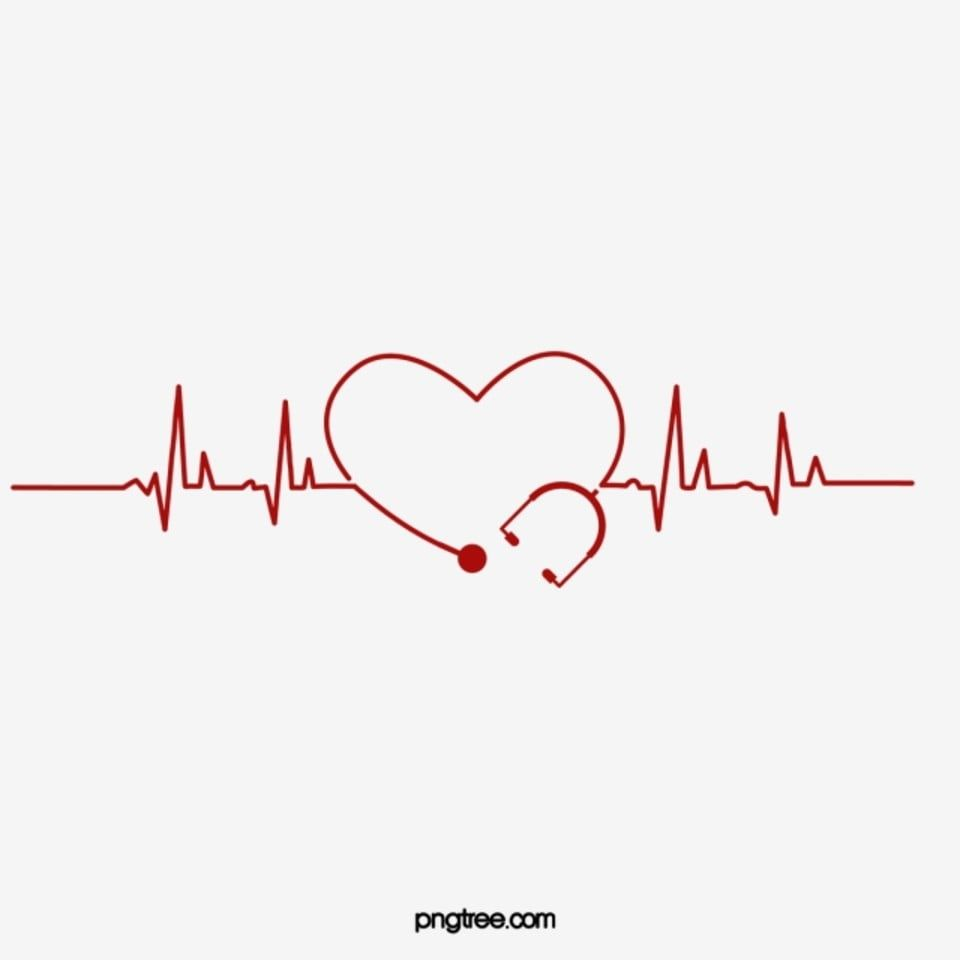 Heart Shaped Heart Rate Ecg Medical Element Heart Clipart Medical Clipart Heart Shaped Png And Vector With Transparent Background For Free Download Nurse Quotes Inspirational Nurses Week Quotes Blur Background In