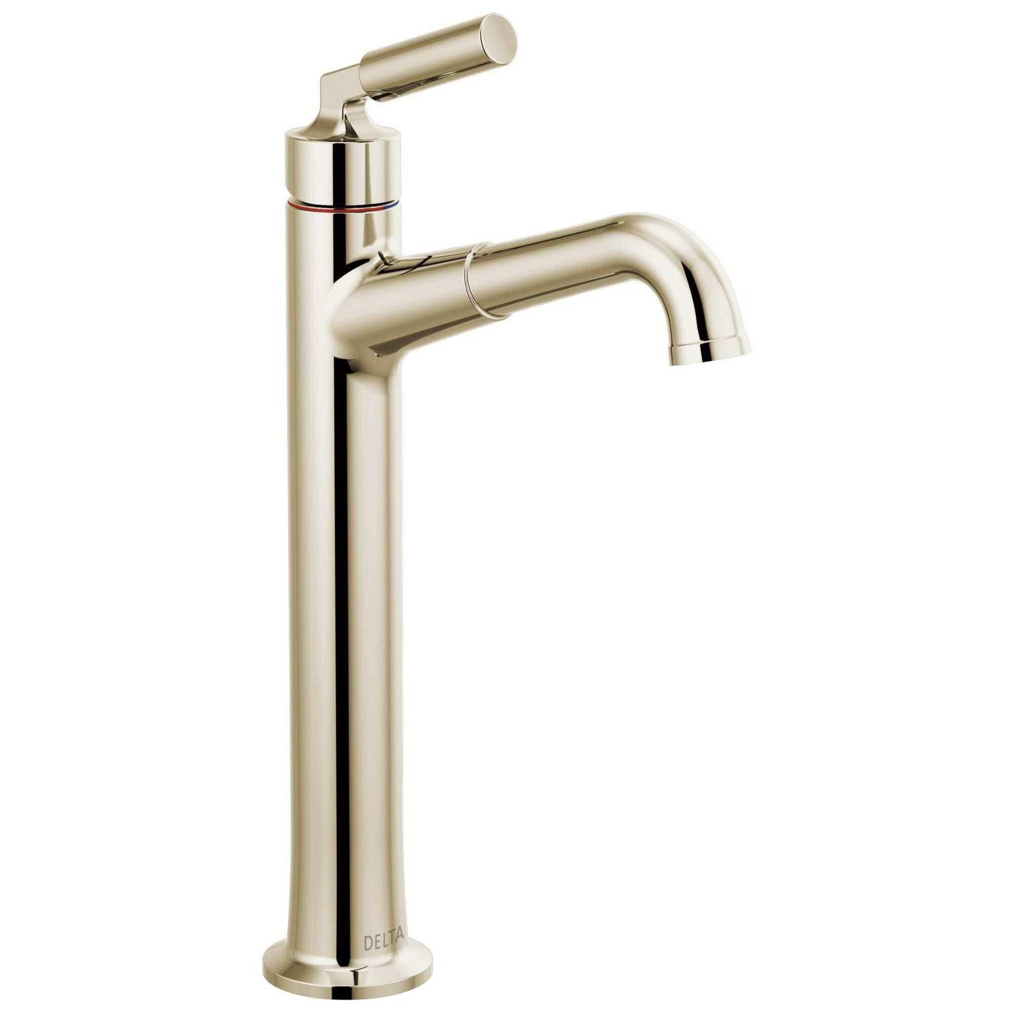 Delta Faucet 748lf Bowery 1 2 Gpm Vessel Bathroom Faucet With