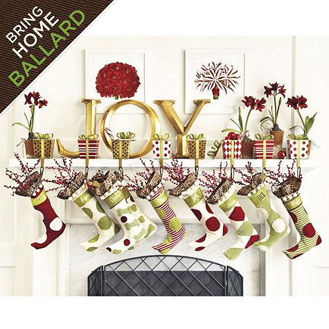 Personalized Ballard Christmas Stockings Available At Ballarddesigns