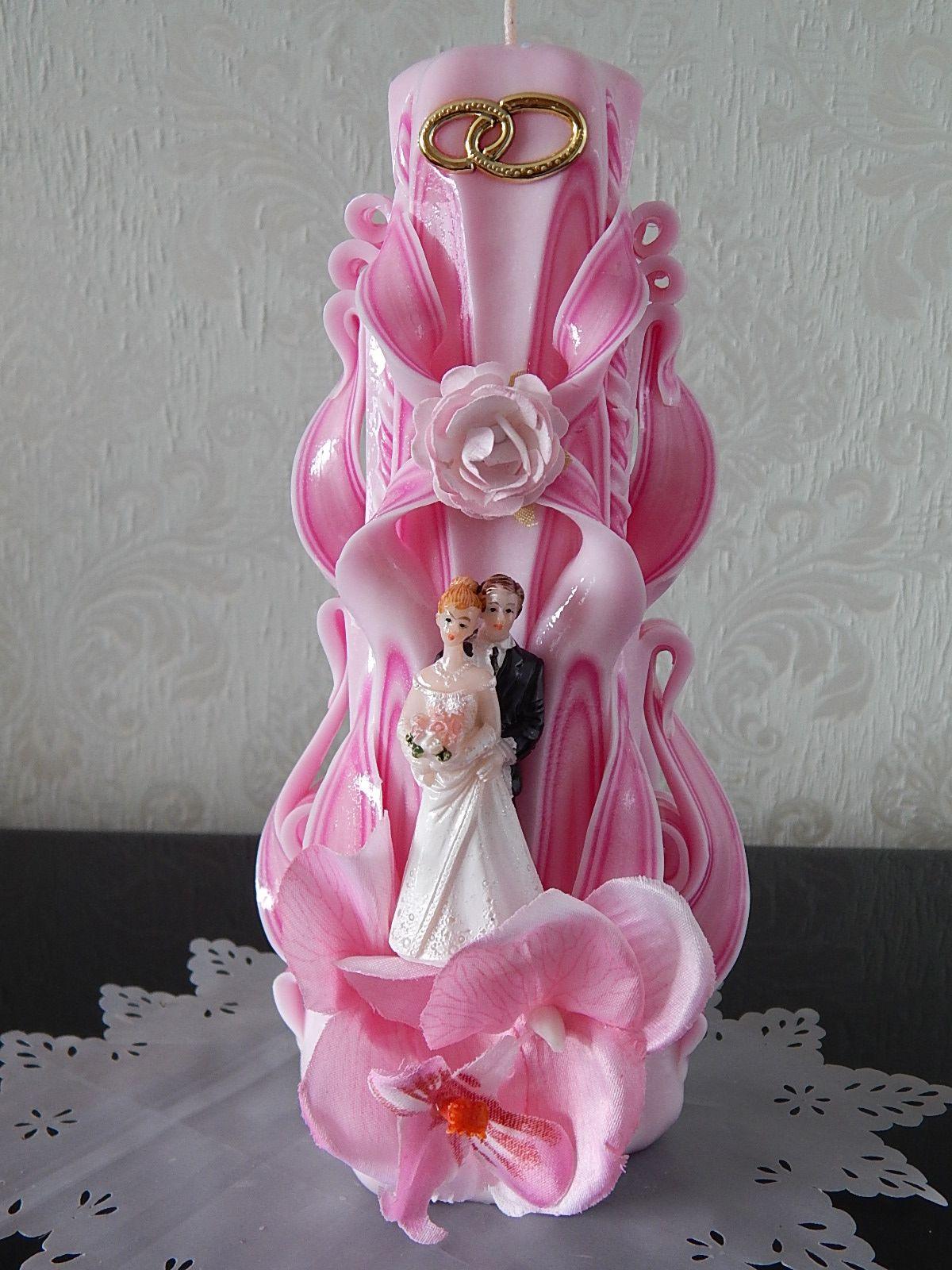Hochzeitkerze carved candles pinterest carved candles