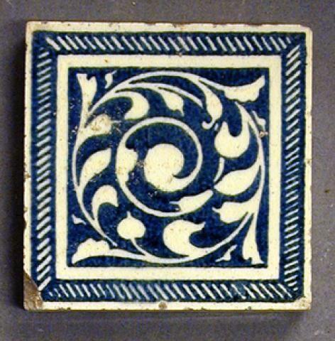 Craven Dunnill Swirling Foliage Www Ironbridge Org Uk Ancient Tiles Art Nouveau Tiles William Morris Art