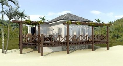 Baie de Sucre Beach Cottages on Caribbean island of Bequia For Sale   RealPlanz.com