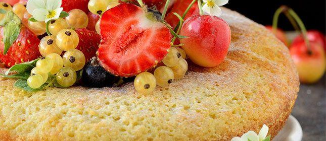 Bizcocho esponjoso básico - Cocina y Vino