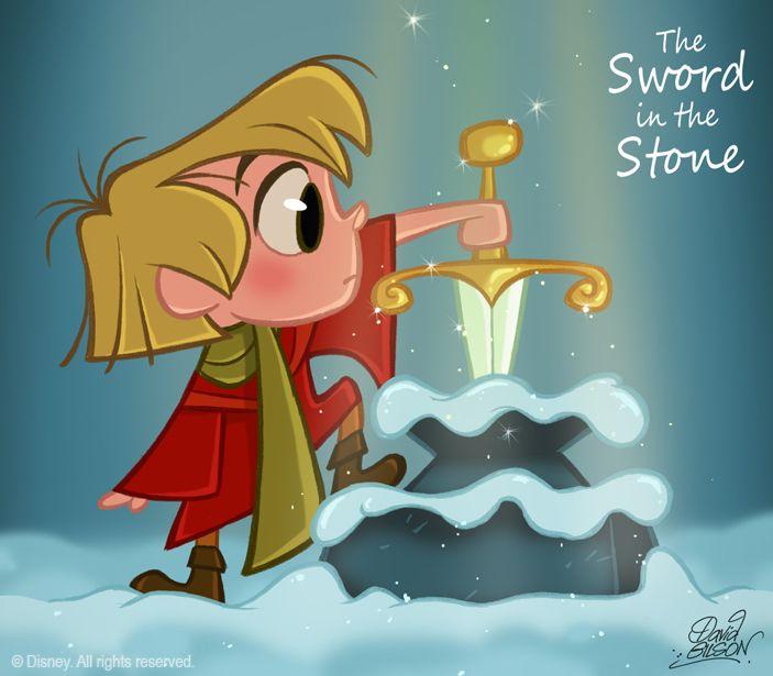 50 Chibis Disney : Sword Stone by *princekido on deviantART