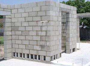 Home Global Habitat Resources Safe Room Cinder Block House Cement Blocks