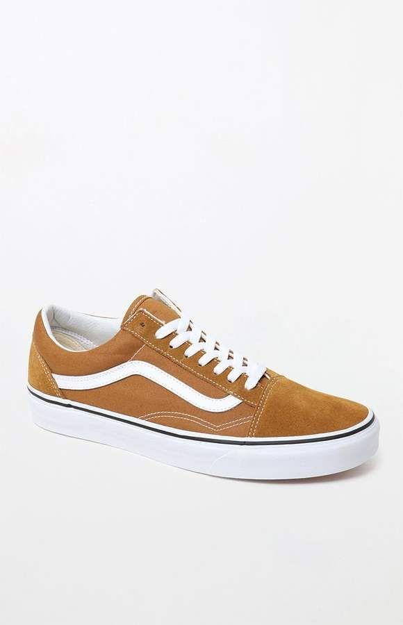 Vans Color Theory Tan Old Skool Shoes