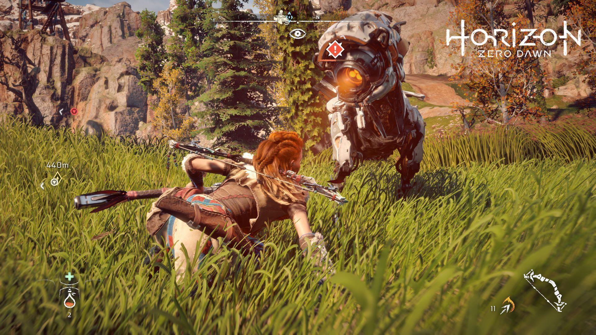 Horizon Zero Dawn PlayStation 4 HorizonZeroDawn