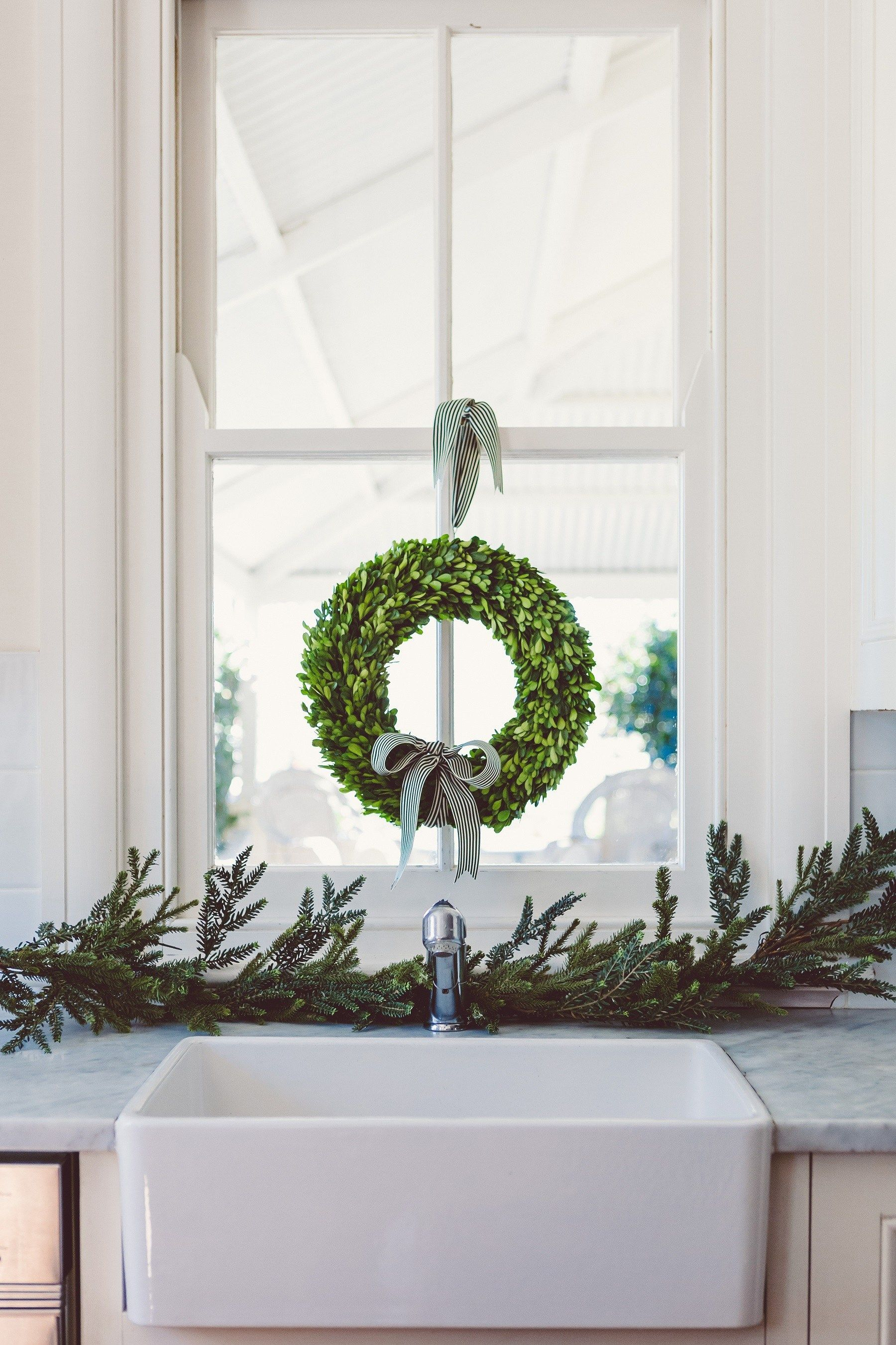 Window ideas for deer stand  the doors of berry  christmas kitchen  pinterest  christmas