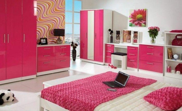 Rosige Akzente Im Schlafzimmer Wandfarben Vorschläge