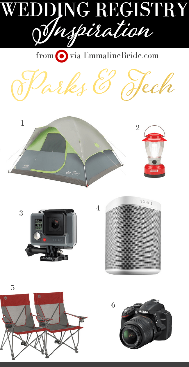 Registry MustHaves from Target 5 Parks & Tech