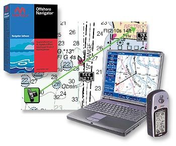Offshore Navigator: charting software
