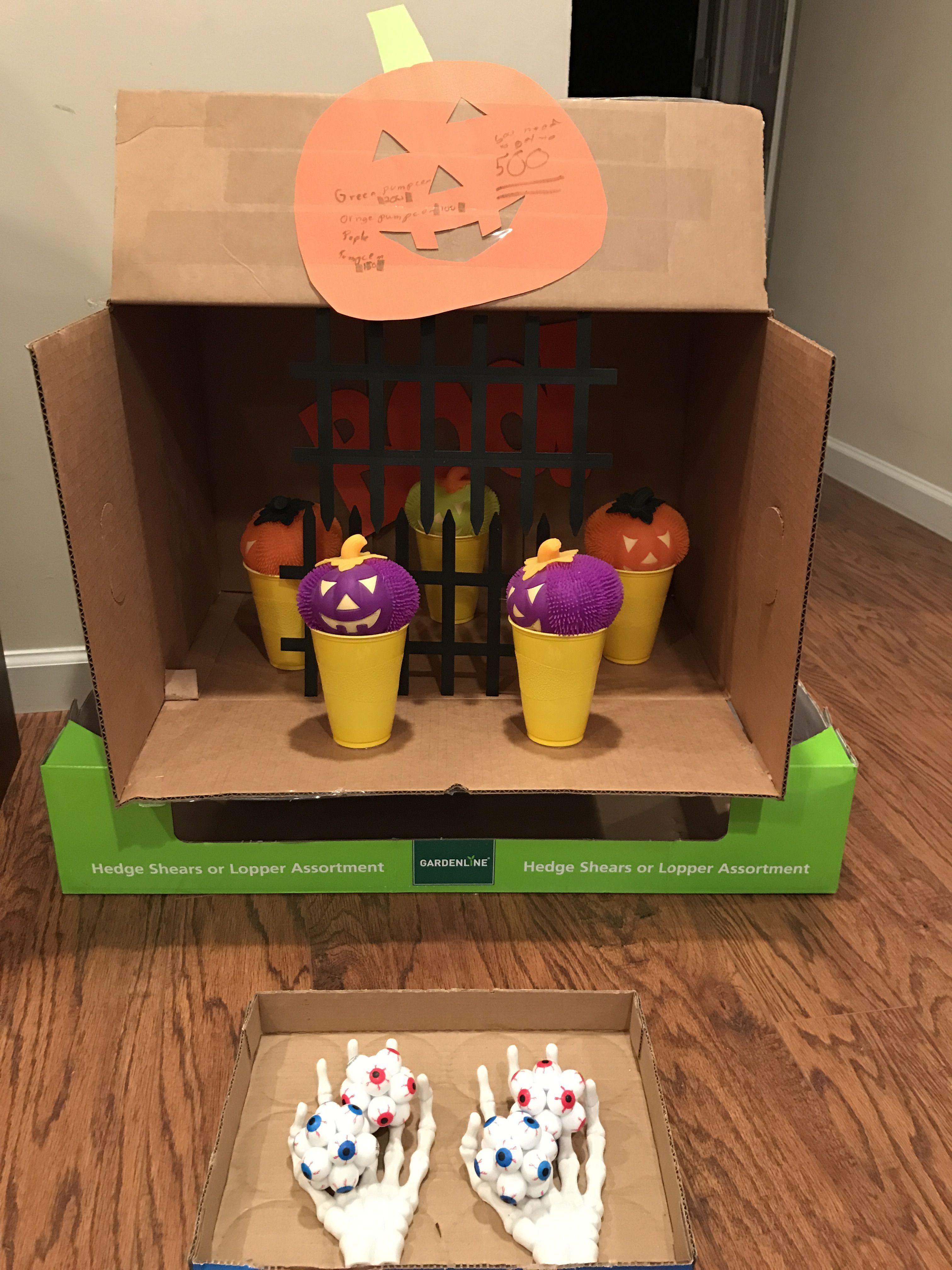 Knock a pumpkin ( my 10 year old made this game all by