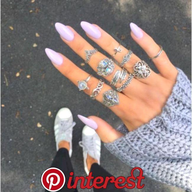 34 Beautiful Acrylic Nail Designs Ideas | Gorgeous nails
