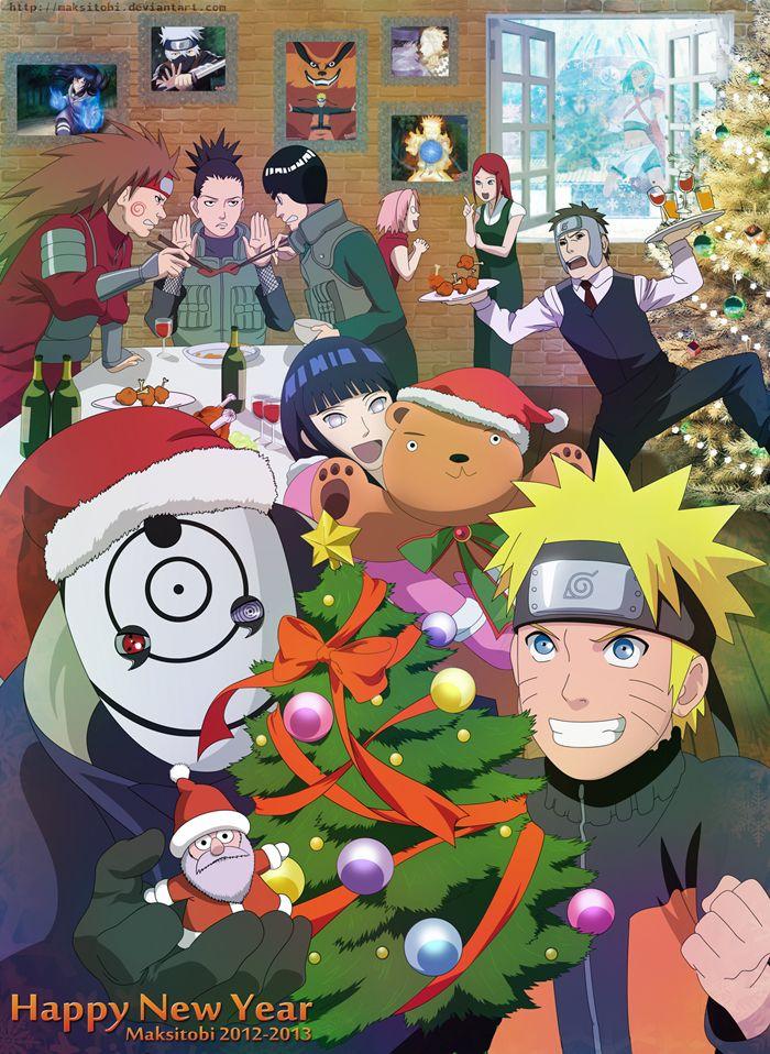 Happy New Year By Epistafy Deviantart Com On Deviantart Zabavnye Oboi Naruto Fentezi Risunki