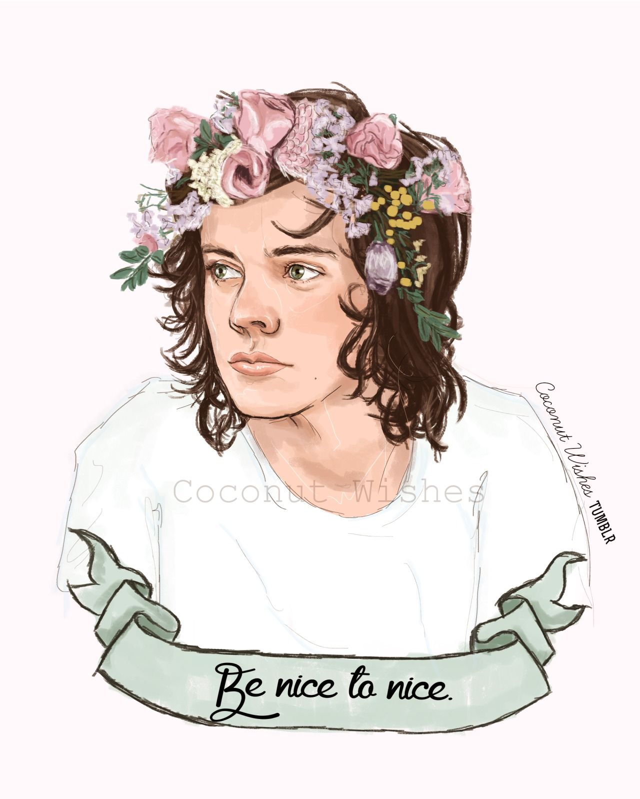 Be nice to nice harry styles fan art coconutwishes nicest kid in be nice to nice harry styles fan art coconutwishes nicest kid in town izmirmasajfo Image collections