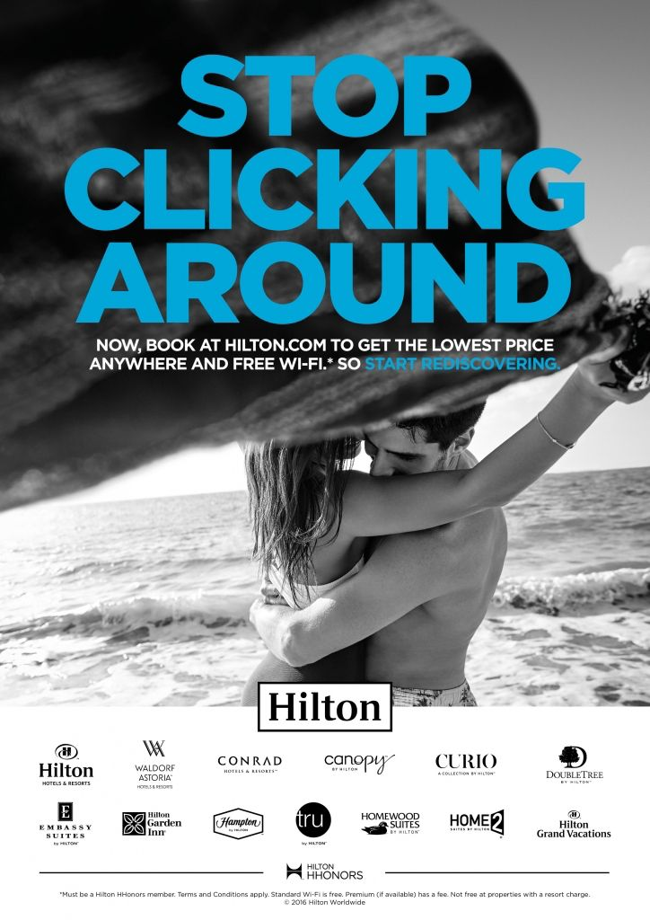 Fold7_hilton_advertising_campaign_its_nice_that_1 | Hotel ...