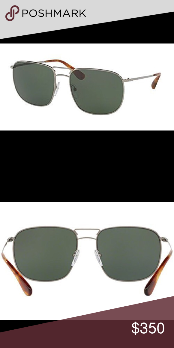 f094731d97ee Prada Men s Square Sunglasses Polarized New Expensive Prada Brand Men s  Sunglass. New Condition. Retail  426 Prada Accessories Glasses