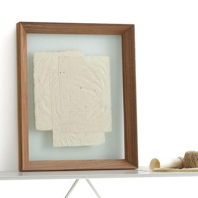 am pm cadre double verre l40xh50 cm moricey la redoute am nagement cadres am nagement. Black Bedroom Furniture Sets. Home Design Ideas