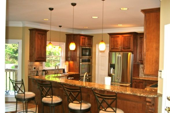Kitchen Design With Peninsula Classy Kitchen Peninsula Ideas  New Peninsula Kitchen  Kitchen Designs Inspiration Design